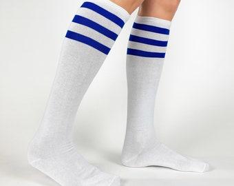 Unisex Vintage USA Bulgaria Flag Knee High Compression Thigh High Socks Soft Socks