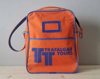 6400cdd676 Vintage airline bag
