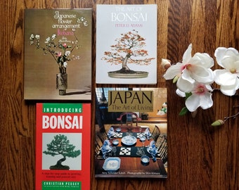 Vintage Bonsai care houseplant book | Introducing Bonsai  | house plant reference book |