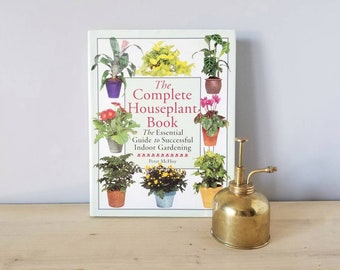 Vintage houseplant book | Indoor plants | the complete houseplant book | how to care for houseplants | indoor garden | reference book