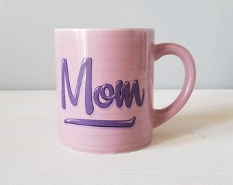 Vintage name coffee mug Mom | gift for mom | eighties mug | tea cup |