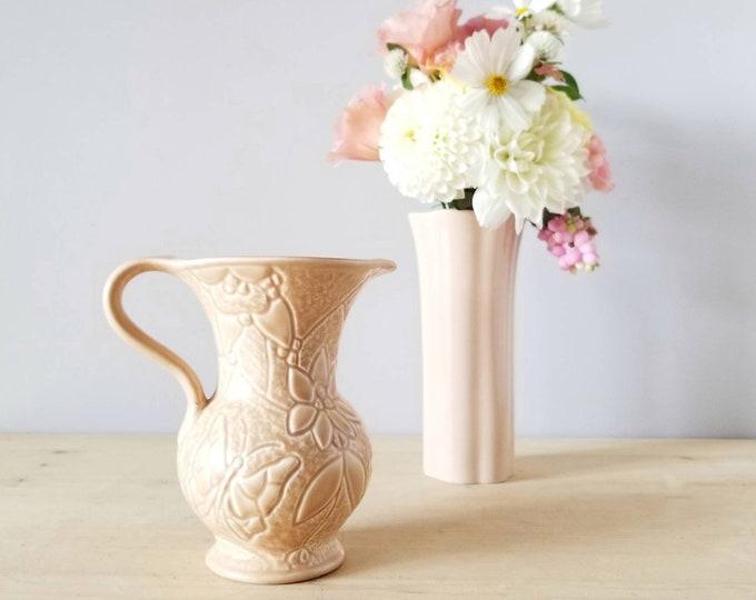 Mid century Delcroft Ware pitcher | vintage water jug | kitchen decor | flower vase |