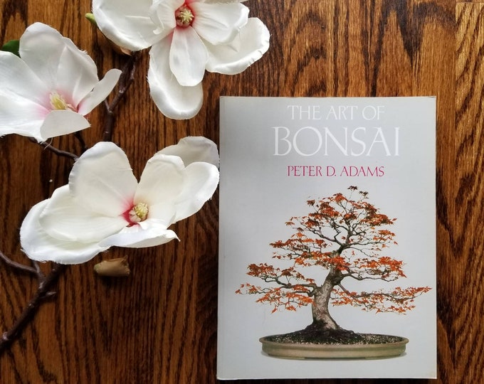Vintage Bonsai care houseplant book | The Art of Bonsai  | house plant reference book |