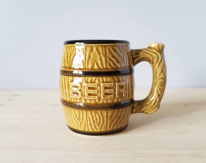 Vintage beer mug | beer stein | Father's Day gift | gift for dad | coffee mug |