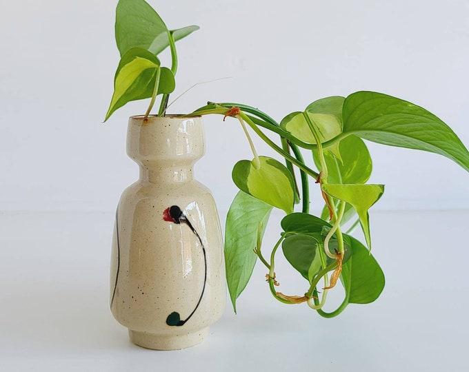 Vintage bud vase | made in Japan | floral arrangement | mid century modern | flower vase |