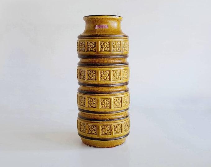 Vintage Scheurich Keramik Alaska West German vase | pottery | Scheurich vase | Mid century modern | Mid mod home decor |