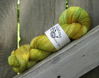 Countryside - Twila - 500 Yards - SW Merino/Lurex - Hand Dyed Fingering Weight Yarn
