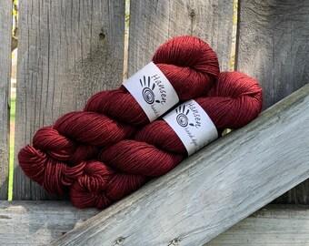 Dyed to Order - Silky Sherpa DK - SW Merino/Silk/Yak Hand Dyed Yarn - as seen in Nomadic Knits