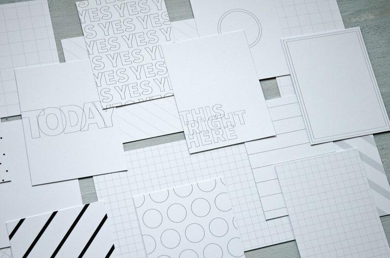 Digital  Essentials No. 1 Journal Cards  Printable image 0