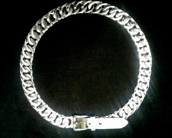 GUCCI Stainless Steel Belt Circa 1970s - image 3
