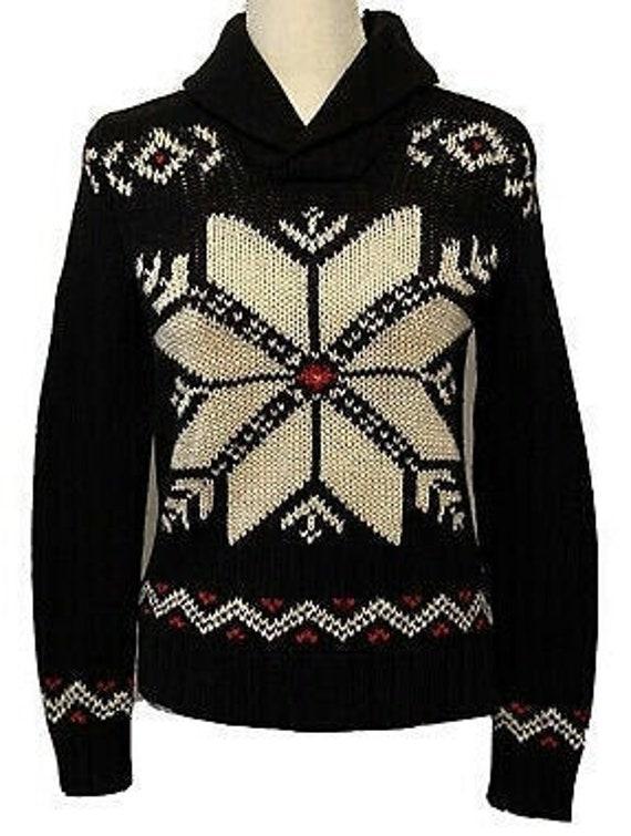 POLO Ralph Lauren Sport Snowflake Nordic Sweater.