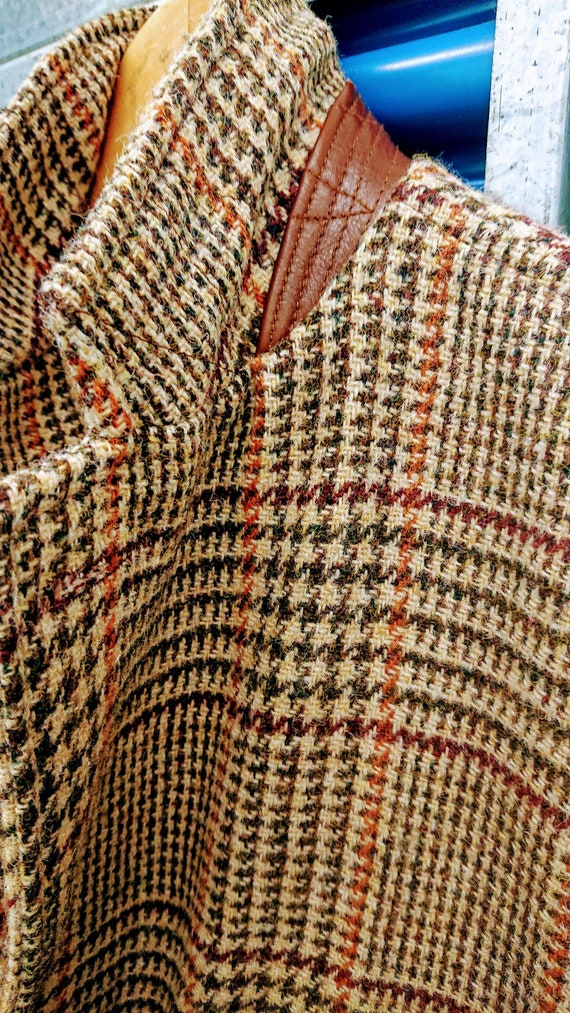 Harris Tweed Equestrian riding jacket for Bullock /& Jones