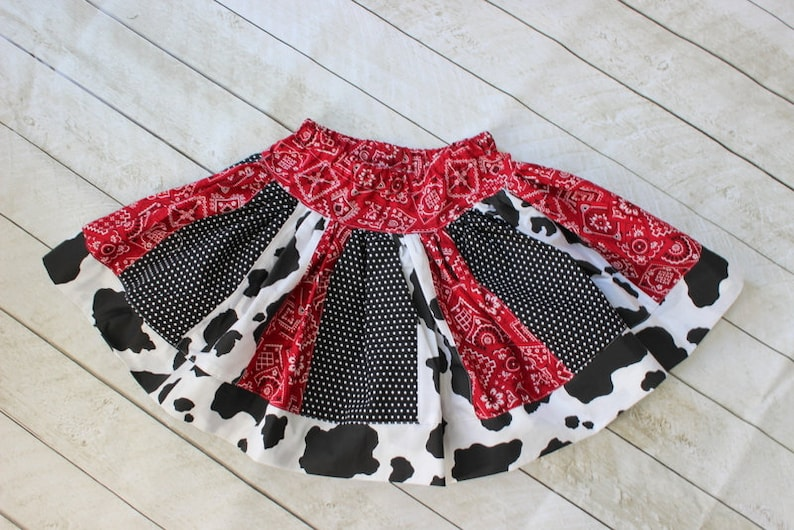 922e5ebd94446 Cowgirl skirt girl cowboy skirt rodeo ourfit cowgirl skirt cow