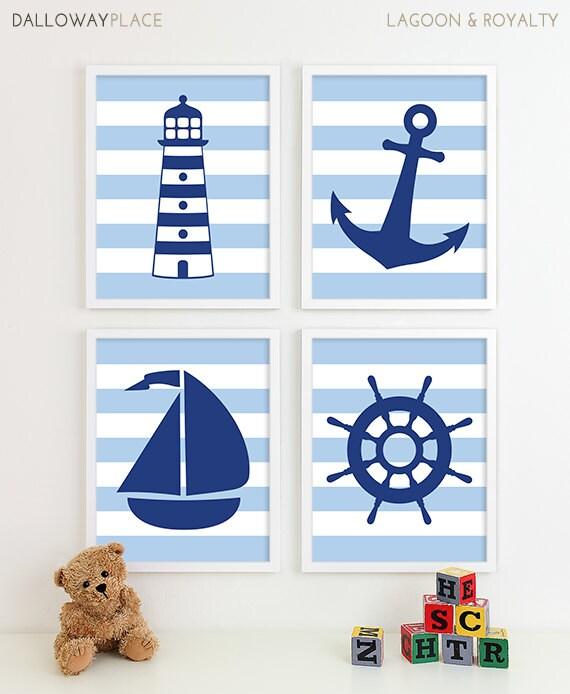 Baby Nash S Vintage Nautical Nursery: Nautical Nursery Art Baby Boy Nursery Art Nautical Nursery