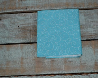 Turquoise Swirl Fat Quarter Fabric