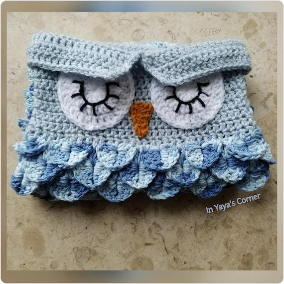 Crochet Baby Owl Cocoon Baby Sack Sleeping Owl Photo Etsy