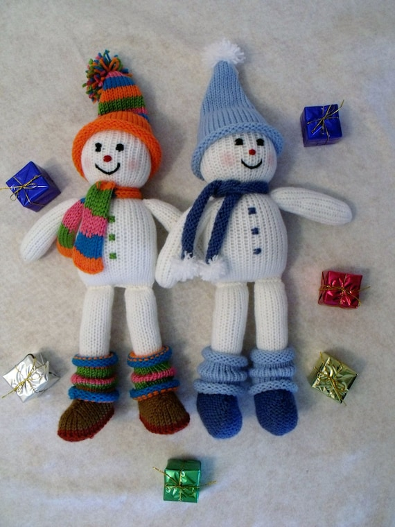 mod le de tricot poup e jouet d coration de no l knitting etsy. Black Bedroom Furniture Sets. Home Design Ideas