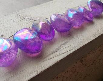 Enchanted Purple Aura Crystals