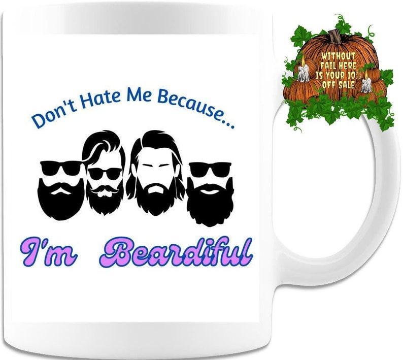 Gift For Him Beard Mug Boyfriend Mug  Fiance Mug image 0