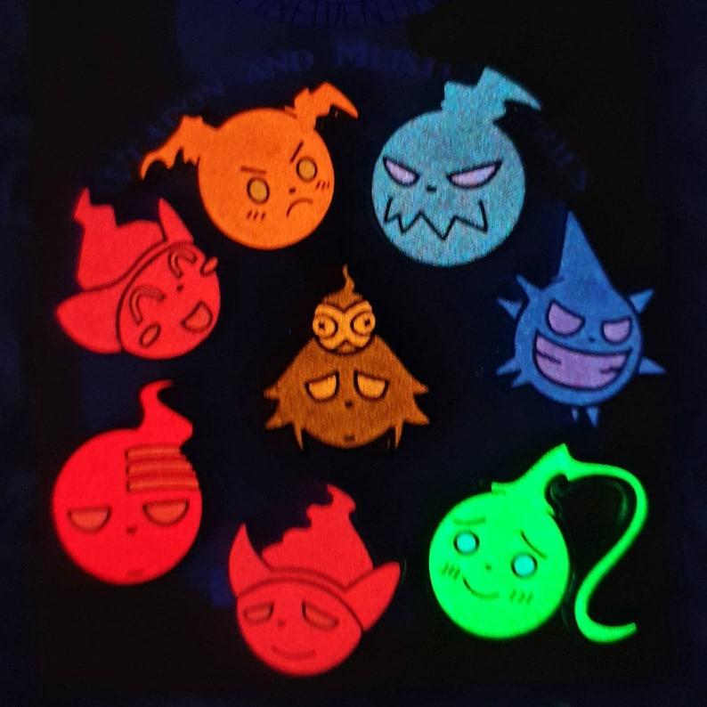 Mini Soul Glow Board Filler Pins