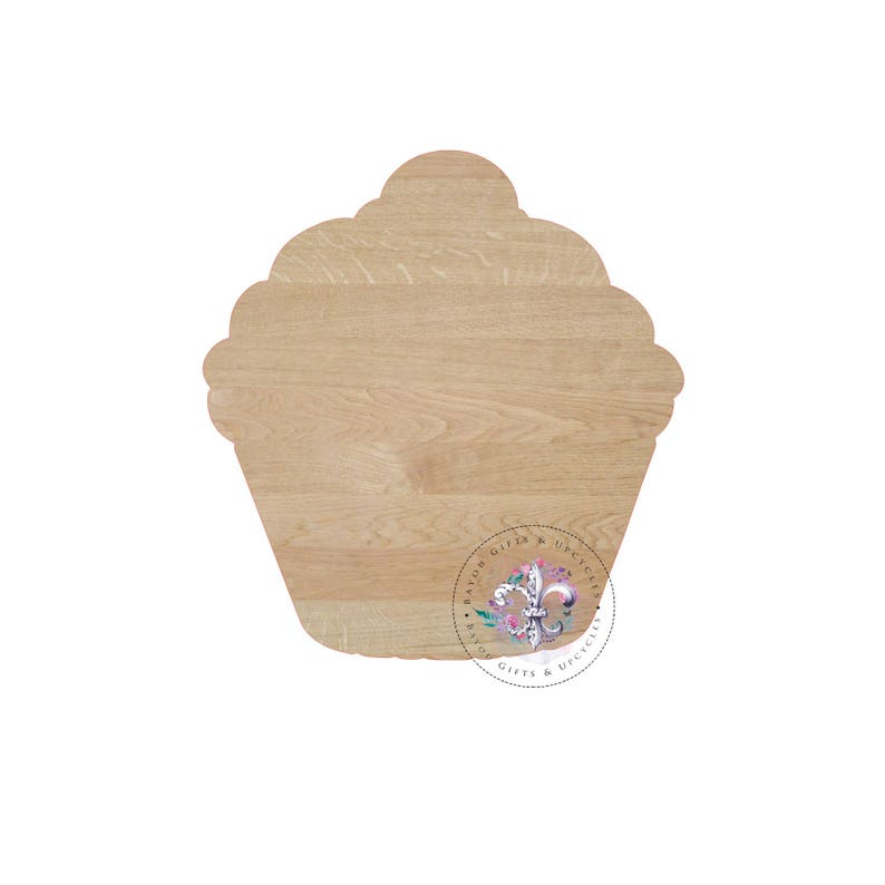 9227080a1e537 CUPCAKE Wooden Cutout Unfinished Wooden Blanks Wooden
