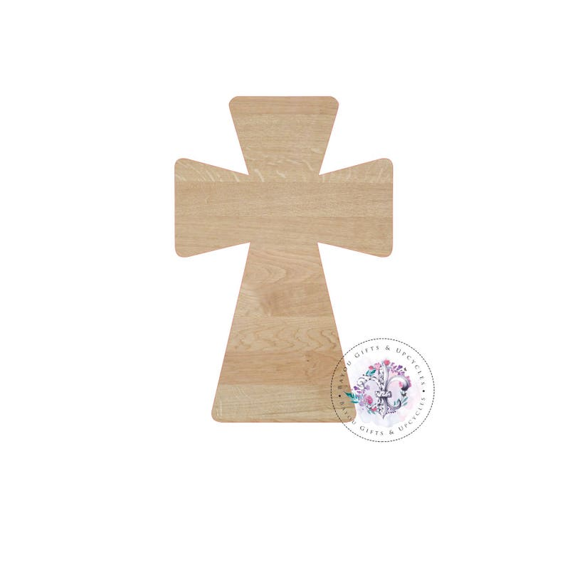 bc719dca37fc9 CROSS 2 Wooden Cutout Unfinished Wooden Blanks Wooden