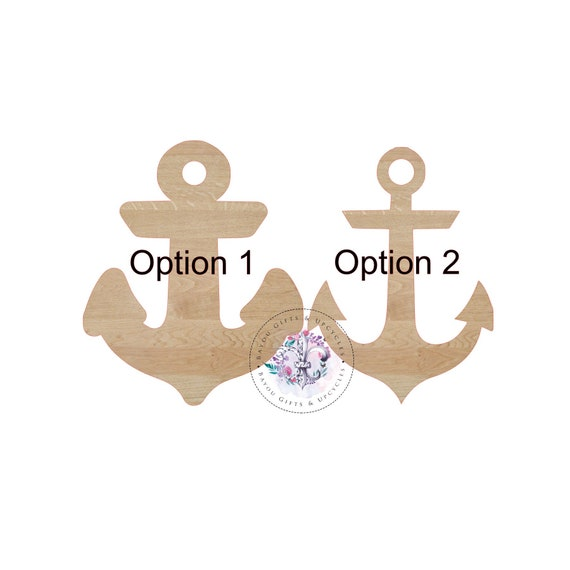 74ae4607f6500 ANCHOR Wooden Cutout Unfinished Wooden Blanks Wooden