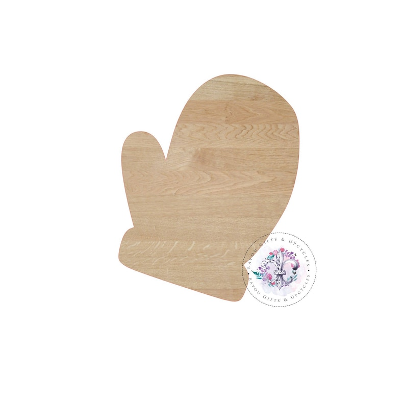 9b5ff59c21055 MITTEN Wooden Cutout Unfinished Wooden Blanks Wooden