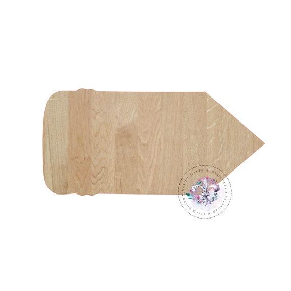 3d42c3685236e PENCIL Wide Style Door Hanger Pencil Wooden Cutout