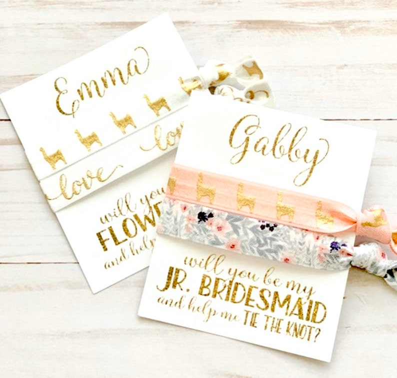 Bridesmaid Proposal Flower Girl Proposal  Will you be my... image 0