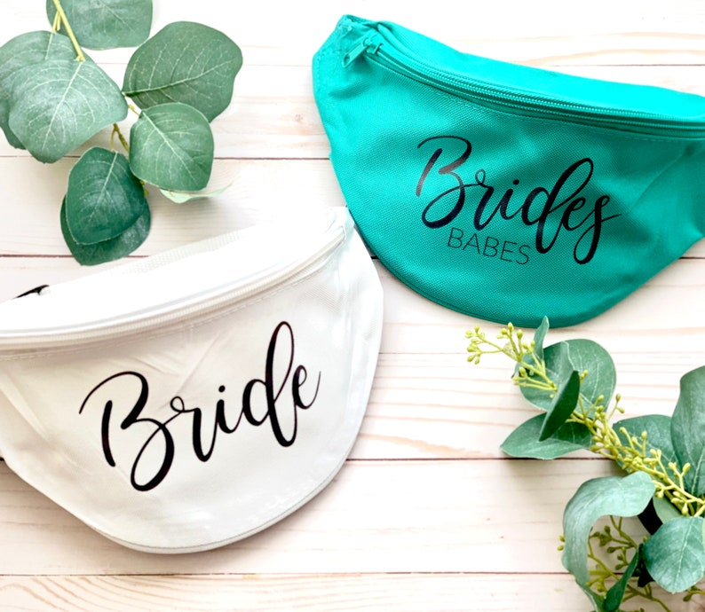 Bachelorette party fanny pack bachelorette party bags custom image 0