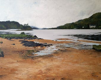 Scottish Landscape Print Loch Awe Scotland Glasgow Artist