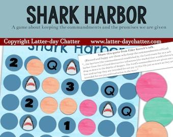 NEW: Shark Harbor - COMMANDMENTS GAME