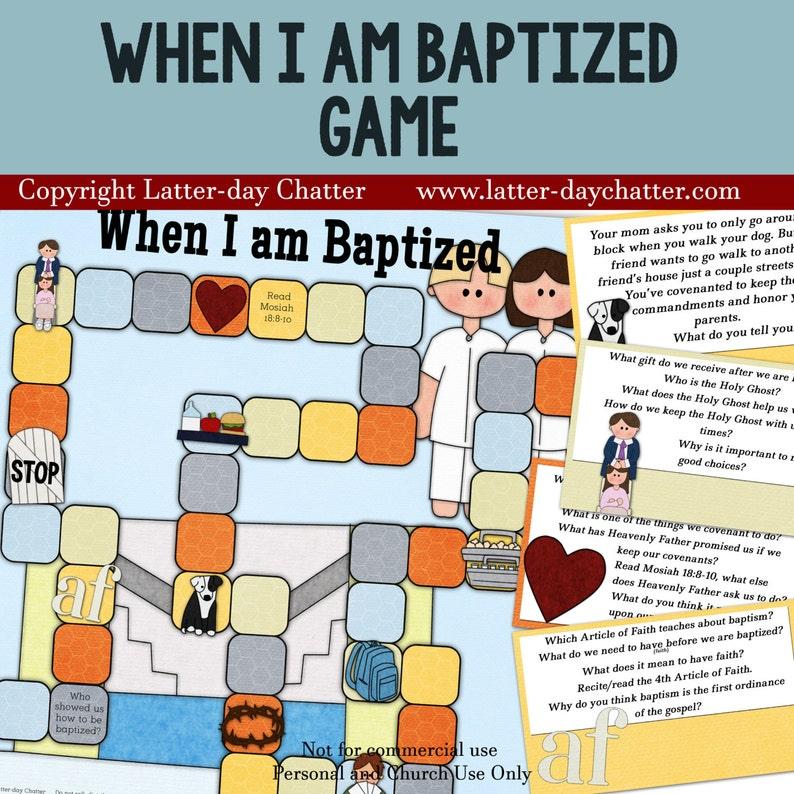 When I'm Baptized Game image 0