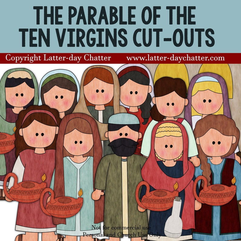 The Parable of the Ten Virgins Cut-outs image 0