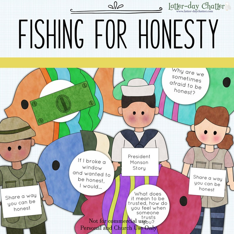 NEW: Fishing For Honesty image 0