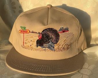 48e96ff1 NEW rare vintage Dekalb embroidered twill turkey snapback adjustable cap hat  FREE shipping