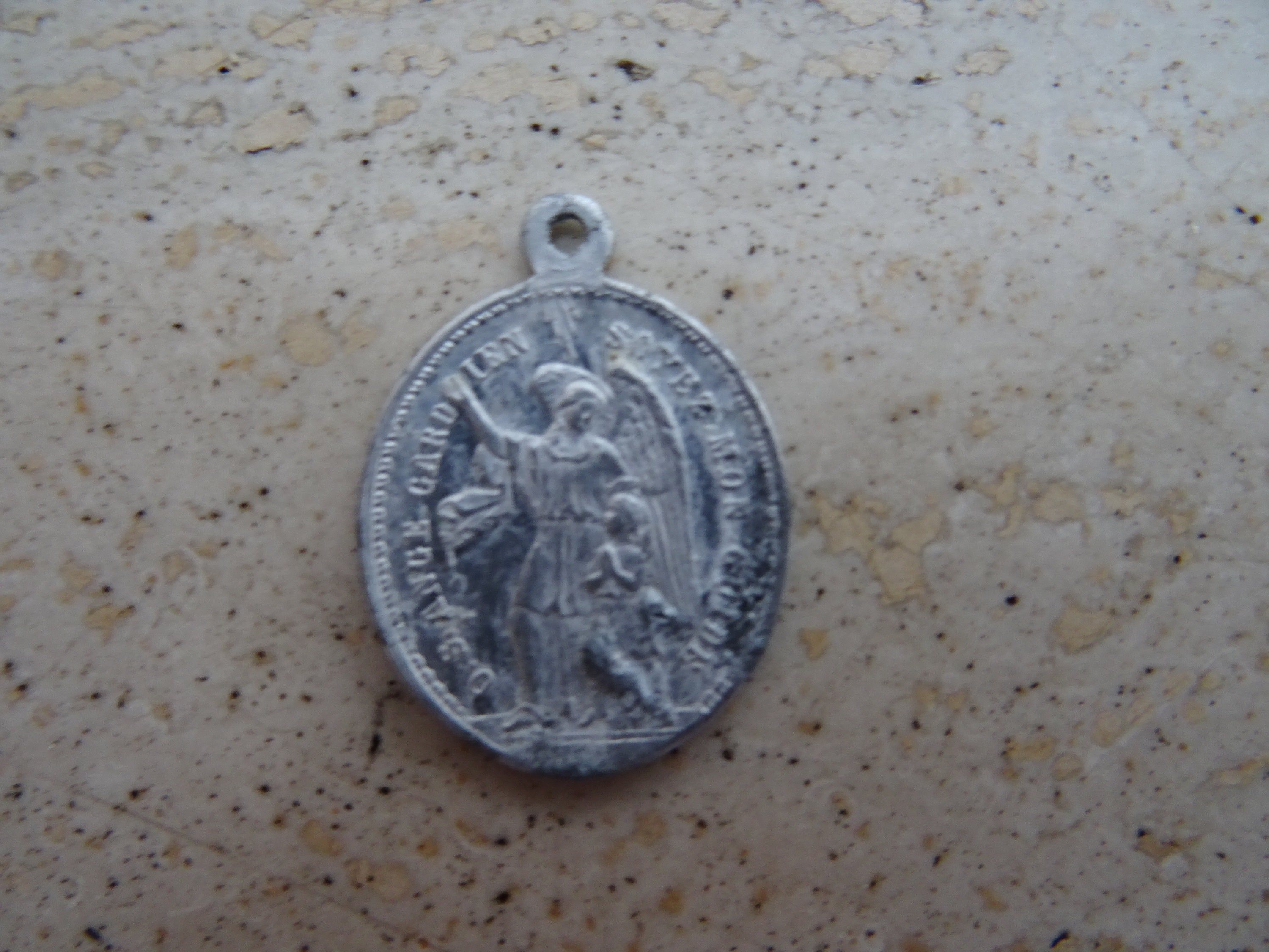 listing holy medal patron medallion sebastian diseased il saint police of fullxfull cattle dying st mycq