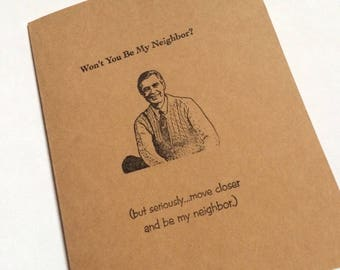 Mister Rogers- Miss You Greeting Card