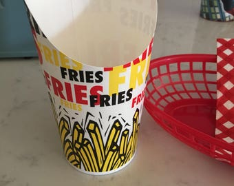 20 French Fry holder, Father's Day cookie idea