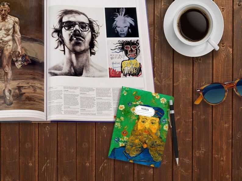 Van Gogh A6 Notebook Portrait of Joseph Roulin Christmas Gift