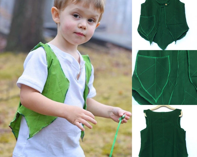 Lost Boys Leaf Vest