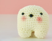 Crochet pillow, tooth ami...