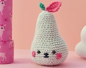 Kawaii crochet fruit, kaw...