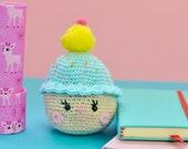 Kawaii cupcakes crochet, ...