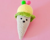 Amigurumi play  food, cro...