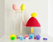 Kawaii crochet decor, cut...