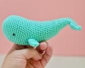 Whale kawaii amigurumi, k...