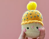 Cupcake amigurumi, decor ...