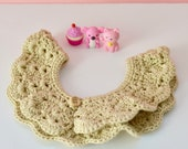 Romantic Peter pan Collar...